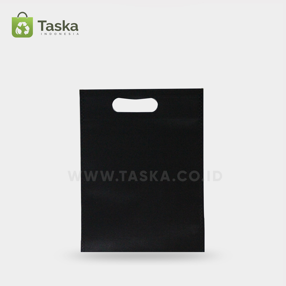 Tas Press Spunbond Oval Hitam