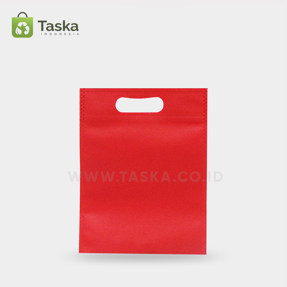 Tas Press Spunbond Oval Merah