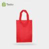 Tas Press Spunbond Handle – Merah 25×35 Cm – Sisi Depan