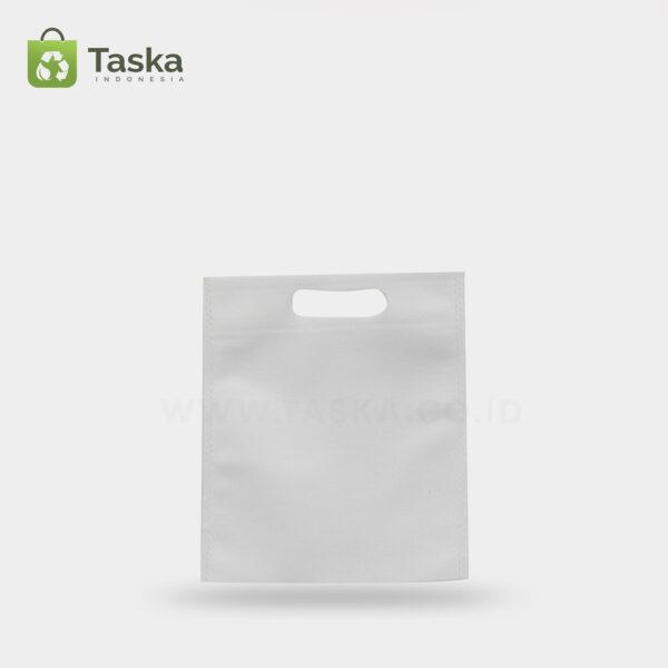 Tas-Press-Spunbond-Oval-Putih-20×25-Cm-Sisi-Depann