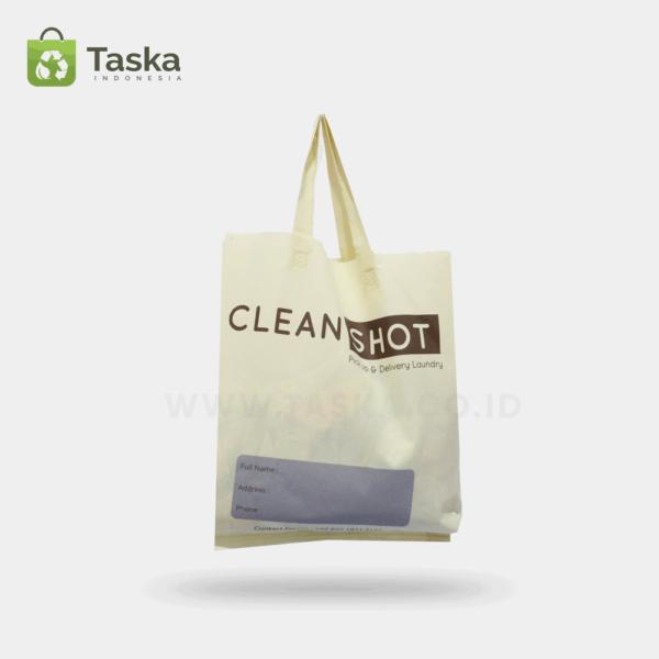 Tas Spunbond Custom Clean Shot Sisi Depan