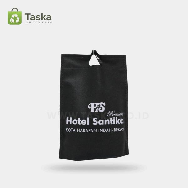 Tas Spunbond Custom Hotel Santika Sisi Depan