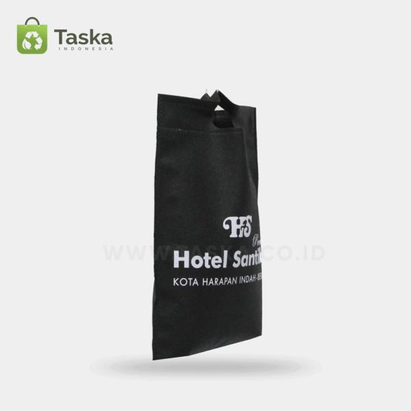 Tas Spunbond Custom Hotel Santika Sisi Kiri