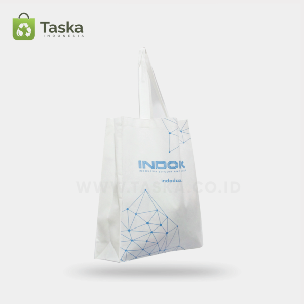 Tas Spunbond Custom Indodax Sisi Kiri