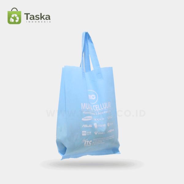 Tas Spunbond Custom Phone Store Sisi Samping