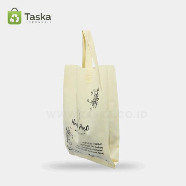 Tas Spunbond Custom Phyto Organic Sisi Samping