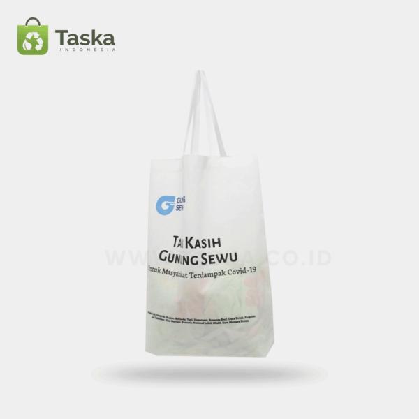 Tas Spunbond Custom Sosial Charity Sisi Depan