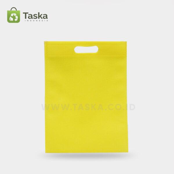 Tas-Spunbond-Oval-Kuning-30×40-Cm-Sisi-Depan