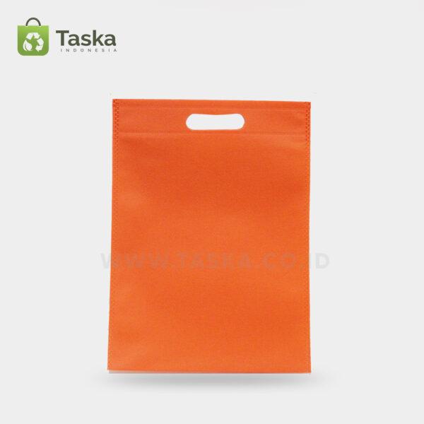 Tas-Spunbond-Oval-Orange-30×40-Cm-Sisi-Depan