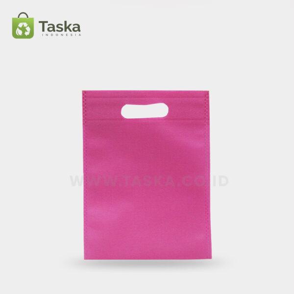Tas-Spunbond-Oval-Pink-25×35-Cm-Sisi-Depan